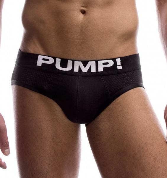 Pump! Herrenslip BLACK CLASSIC Brief 12007