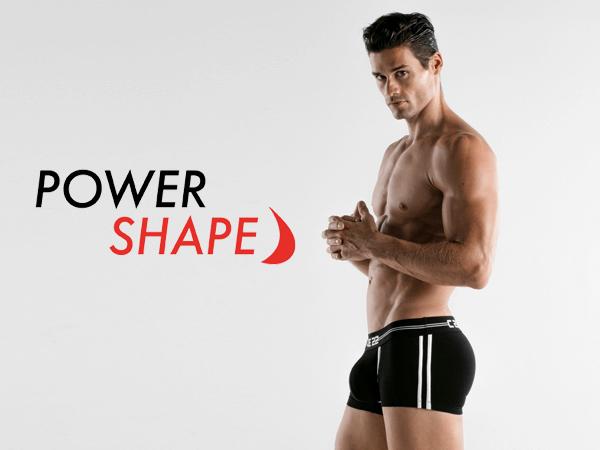 Power Shape Boxershort mit Push-Up Einlage für Männer